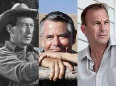Ed Cassidy em 'Superman', Glenn Ford em 'Superman' e Kevin Costner em 'O homem de aço' (Foto: Divulgação)