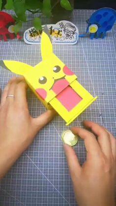 Diy Crafts Hacks, Diy Crafts For Gifts, Diy Arts And Crafts, Creative Crafts, Fun Crafts, Paper Crafts Origami, Paper Crafts For Kids, Cardboard Crafts, Diy Paper