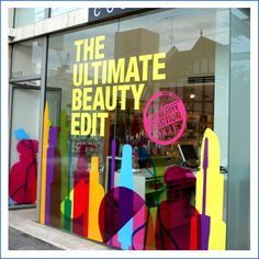 window advertising signage - Google Search
