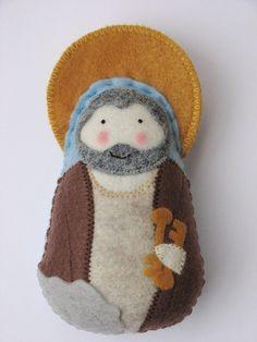 Saint Peter...Felt Softie