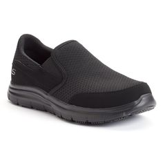 636e5d4f2bbd Skechers Work Relaxed Fit Flex Advantage McAllen Men s Slip-Resistant  Shoes