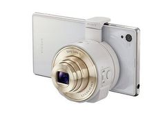 SONY☆Japan-DSC-QX10 Smartphone Attachable Compact Lens Style Camera White-W az