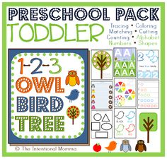 tot worksheets coloring sheet educational learning Teachers pay pre-k trace color count alphabet match numbers shapes