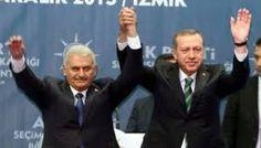 """Erdoğan ve Yıldırım nakaratları """"Referandum sonucu evet olmazsa istikrarsızlık olurmuş"""" Çok istikrarlıyız."""