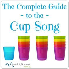 How to do the cup song cool links to videos to show the kids, including Harvard group & a popular youtube clip; also some slow video instructions for it, and links to another blog with teachers freeby