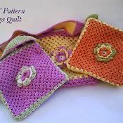 Flower bag for little girls - via Flower Patterns, Crochet Patterns, Pattern Flower, Bag Patterns, Knit Crochet, Crochet Hats, Flower Bag, Unique Crochet, Handmade Bags