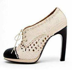 Dries Van Noten Shoes with a Crochet Hint