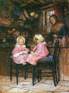 Helen Mary Elizabeth Paterson( Allingham R.W.S.) (1848-1926) — (1000×1364)