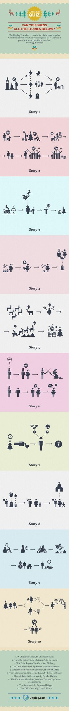 42 best books infographics images on pinterest info graphics christmas story quiz by unplag infographic fandeluxe Gallery