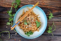 <p>All the comforts of pad thai with the added benefit of almond-y goodness. </p>