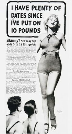5 Vintage Beauty Ads that Might Make You Yearn for the Good Old Day   man the day I see the poster will be the day pigs fly
