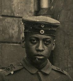 Black soldier in the German Army World War 1