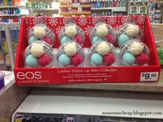The Limited Edition eos and ChapStick Holiday 2013 collections have landed - Nouveau Cheap