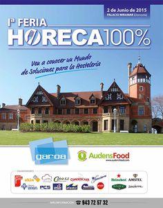 El mundo de las soluciones para la hostelería el martes 2 de Junio en el Palacio de Miramar.