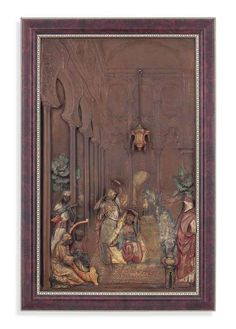 AN AUSTRIAN COLD-PAINTED SPELTER ORIENTALIST PANEL FIRST QUARTER 20TH CENTURY, CAST BY FRANZ BERGMAN OF VIENNA  Price realised GBP 4,000