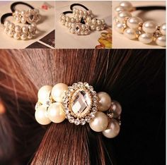 Aspiring 2019 Fashion Alloy Lady Large Hair Claw Clamps Small Hair Clip For Girls Imitation Pearls Hairpins Accesorios Para El Cabello Back To Search Resultsapparel Accessories