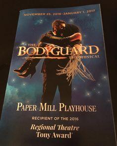#thebodyguardmusical #papermillplayhouse
