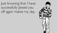 haha yep! I love knowing that my pins bother you so much..BUT if you would stay off of my page you wouldn't have to see them. Quit sitting around feeling sorry for yourself and stalking my husband  its sad