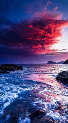 Ideas Photography Nature Sea Beautiful Sunset For 2019 Beautiful Nature Wallpaper, Beautiful Sunset, Beautiful Landscapes, Beautiful Places, Beautiful Beautiful, Wonderful Places, Landscape Photography, Nature Photography, Photography Tricks