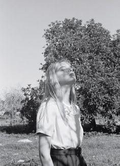 Lovisa Ingman by Venetia Scott | Margaret Howell S/S 2009