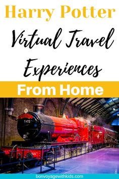 If your summer plans to visit the Wizarding World of Harry Potter or London's Harry Potter Studio Tour has been derailed, you can travel there from home with these virtual experiences! From Harry Potter Virtual Tours, online experiences, magical recipes, and games, wizards and muggles alike can apparate right into Harry's world and Hogwarts with one of these magical travel from home experiences.#travelfromhome #harrypotter #virtualtours #universalorlando #harrypottertour #wizardingworld Virtual Museum Tours, Virtual Tour, Virtual Reality, Travel With Kids, Family Travel, Harry Potter Tour, Virtual Travel, Excursion, Travel Advice