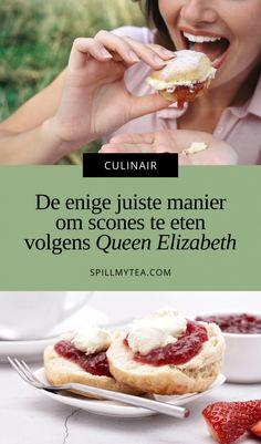 Scones eten, hoe hoort dat nou eigenlijk? | SpillMyTea Clotted Cream, Hamburgers, High Tea, Afternoon Tea, Camembert Cheese, Sandwiches, Food, Tea, Tea Time