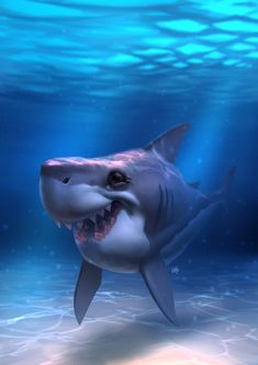 3d animation sex shark blue lagoon