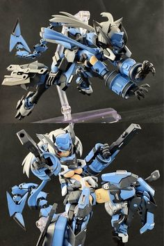 Cool Anime Girl, Anime Art Girl, Cool Robots, Cool Toys, Female Character Design, Character Concept, Anime Vs Cartoon, Frame Arms Girl, Gundam Custom Build