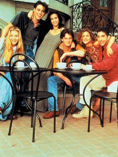 Lisa Kudrow, Matt LeBlanc, Corteney Cox, Matthew Perry, Jennifer Aniston and David Schwimmer