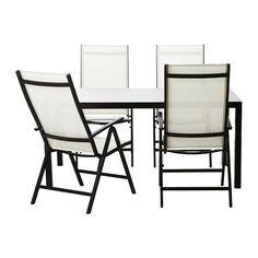 AMMERÖ  Mesa con 4 sillas, marrón oscuro  €348,96 / ud  Referencia artículo:898.984.57