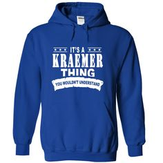 [Hot tshirt name tags] Its a KRAEMER Thing You Wouldnt Understand Tshirt-Online Hoodies, Tee Shirts