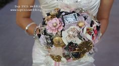 Wish I thought of this when I got married: A Brooch Boquet.    Would be special & sweet to gather heirloom pins/brooches from the elder ladies in your and your fiancee's families, then build into this one-of-a-kind, everlasting boquet.  Retro, haute, chic!