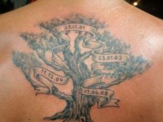 Family Tree Tattoos