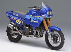 In 1986 Yamaha saw fit to put an FZ750 motor into a Tenere chassis. Gnarly. FZ750 Tenere(0U26)