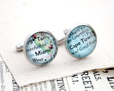 Custom Cufflink Personalized Must Haves by KfiatekGiftedHands