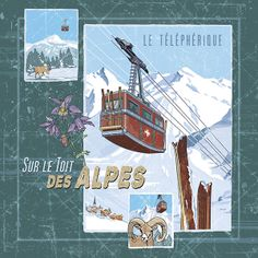 le telepherique 2005 printed creation