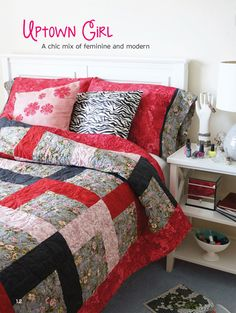 1000+ images about Uptown Girl Quilt Pattern on Pinterest Girls quilts, Michael miller and T ...