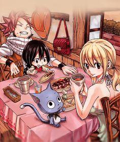 Natsu, Lucy et Asuka