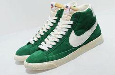 Nike Blazer High VNTG – Pine Green/White