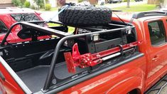 Click this image to show the full-size version. Truck Accesories, Truck Bed Accessories, Overland Gear, Overland Truck, Lifted Ford Trucks, Pickup Trucks, Toyota Tundra Off Road, Truck Roof Rack, Nissan Navara D40