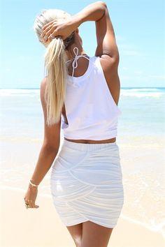 SABO SKIRT - Colada Skirt