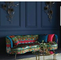 Print on the sofa?