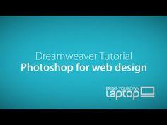 Dreamweaver CC Tutorial - Part 9 - Using Photoshop to make Web Graphics… Dreamweaver Tutorial, Adobe Dreamweaver, Adobe Software, Adobe Indesign, Adobe Fireworks, Adobe Animate, Adobe Muse, Creative Suite, Adobe Illustrator Tutorials