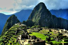 """Macchu Picchu or """"Lost City of the Incas"""" in Peru is an architectural and archaelogical jewel."""