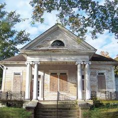 Greek Revival Cottage house from the save this old house 2010 update