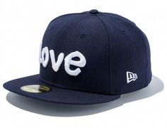 Navy Love 59Fifty Fitted Cap by MARK GONZALES x NEW ERA