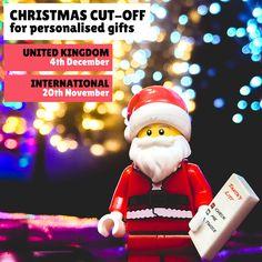 Christmas Shopping, Santa List, Custom Lego, Christmas Delivery, Secret Santa, Frames, Mini, Handmade