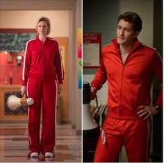 Who wore it better: Sue or Mr. Schue?