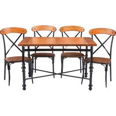 Found it at Joss & Main - 5-Piece Leah Dining Set