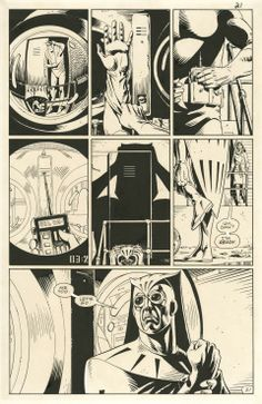 Watchmen issue 7 page 21 by Dave Gibbons.  Source.